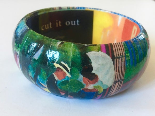 Image of Collage Bangle 1 by Susan Legind