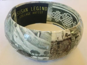 Image of Collage Bangle 4 by Susan Legind