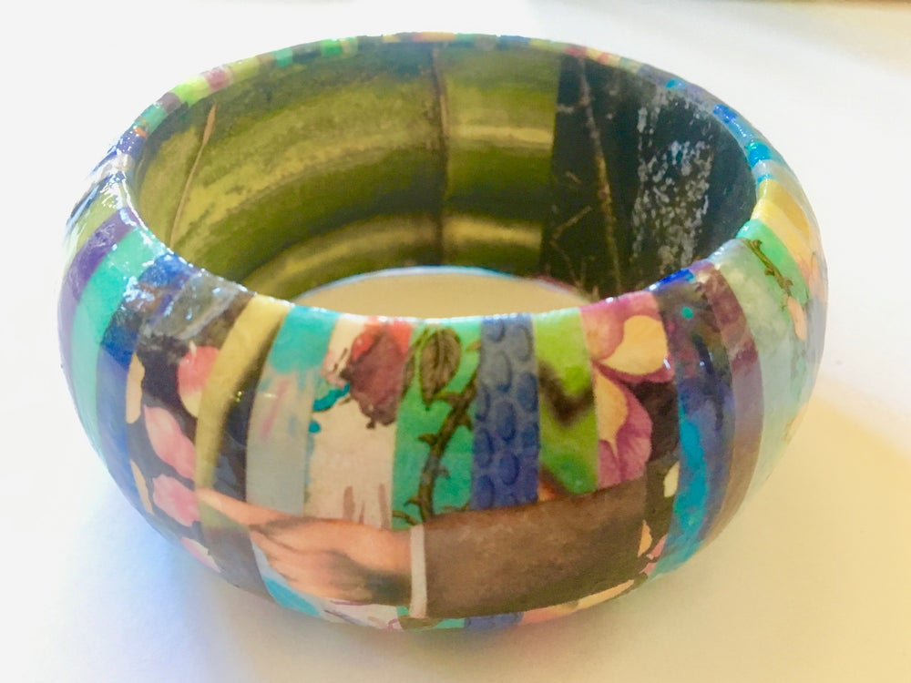 Image of Collage Bangle 5 by Susan Legind