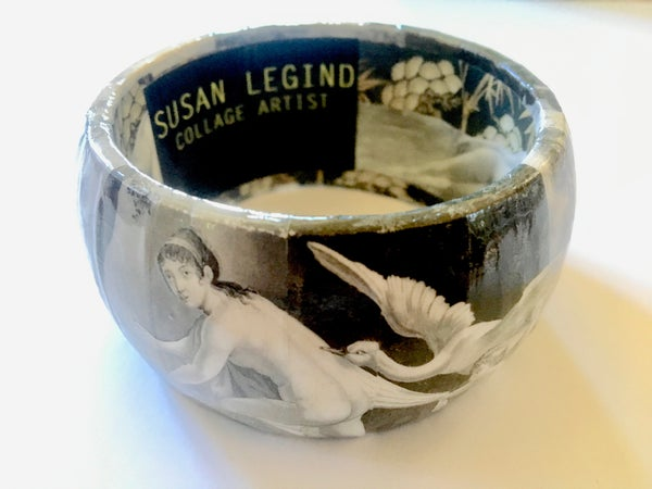 Image of Collage Bangle 7 by Susan Legind