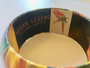Image of Collage Bangle 8 by Susan Legind