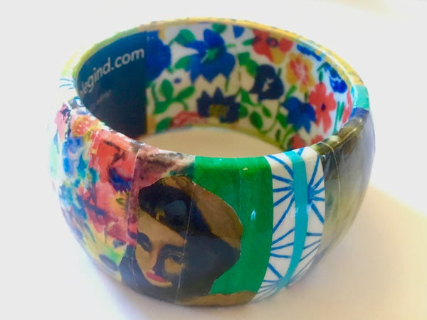 Image of Collage Bangle 10 by Susan Legind