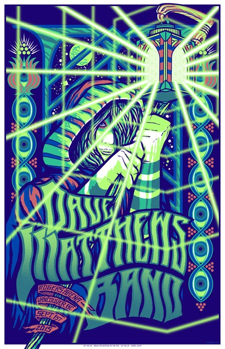 Image of Dave Matthews Band • '15 Vancouver Screen Print