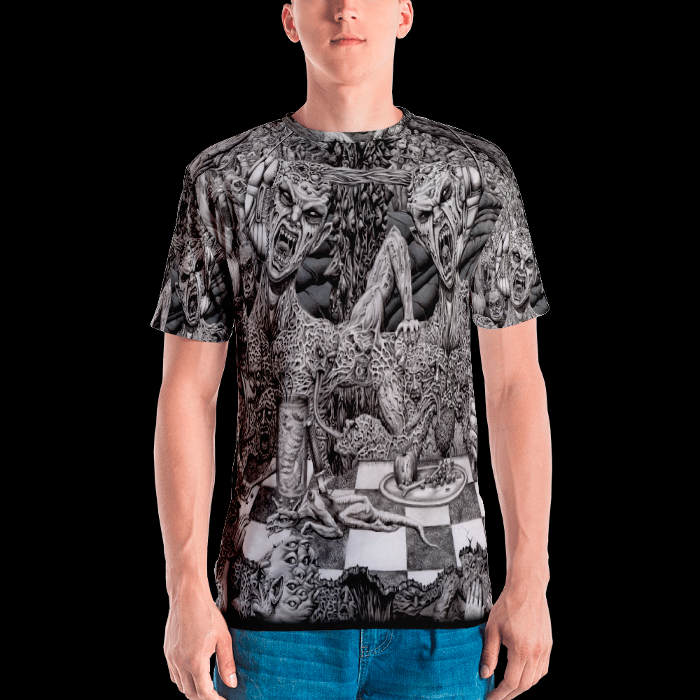 Image of Hell's Diner all over print shirt by Mark Cooper Art