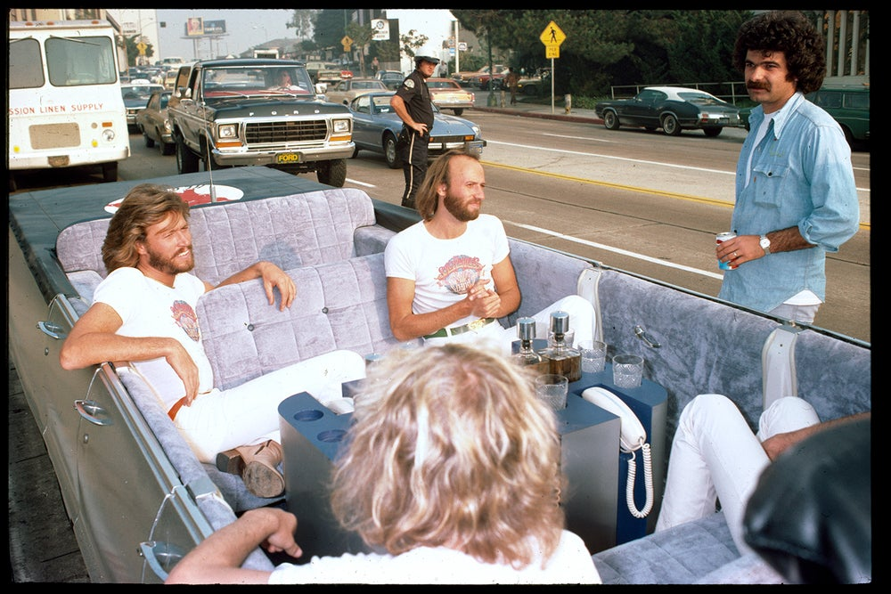 Image of The Bee Gees on The Strip 1978