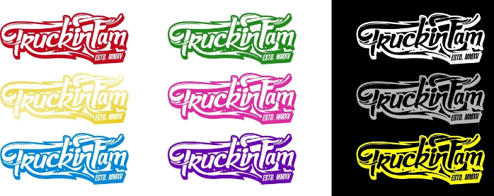 Image of Truckinfam Decal