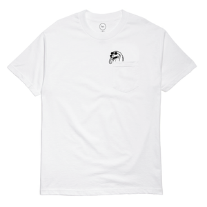 Image of peek-a-ween pocket tee