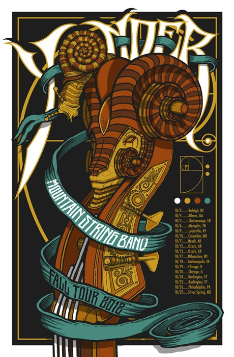 Image of Yonder Mountain Spring Band • '12 Fall Tour