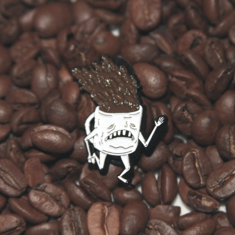 Image of COFFEE ENAMEL PIN