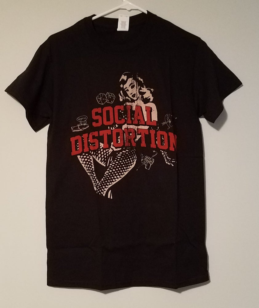 Image of Social Distortion - White Light, White Heat, White Trash Icons shirt