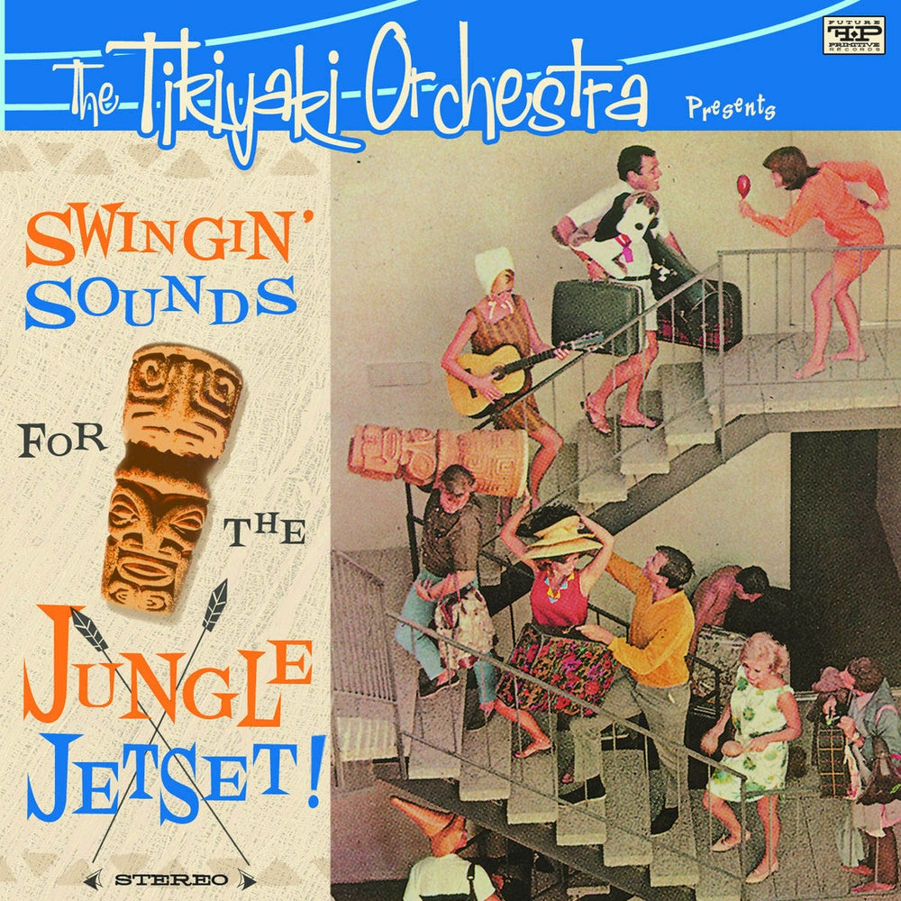 "Image of THE TIKIYAKI ORCHESTRA ""Swingin Sounds for the Jungle Jetset"" CD  2009"