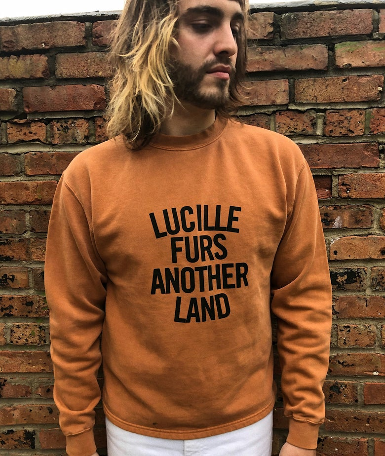 "Image of ""Another Land"" raglan sweatshirt"