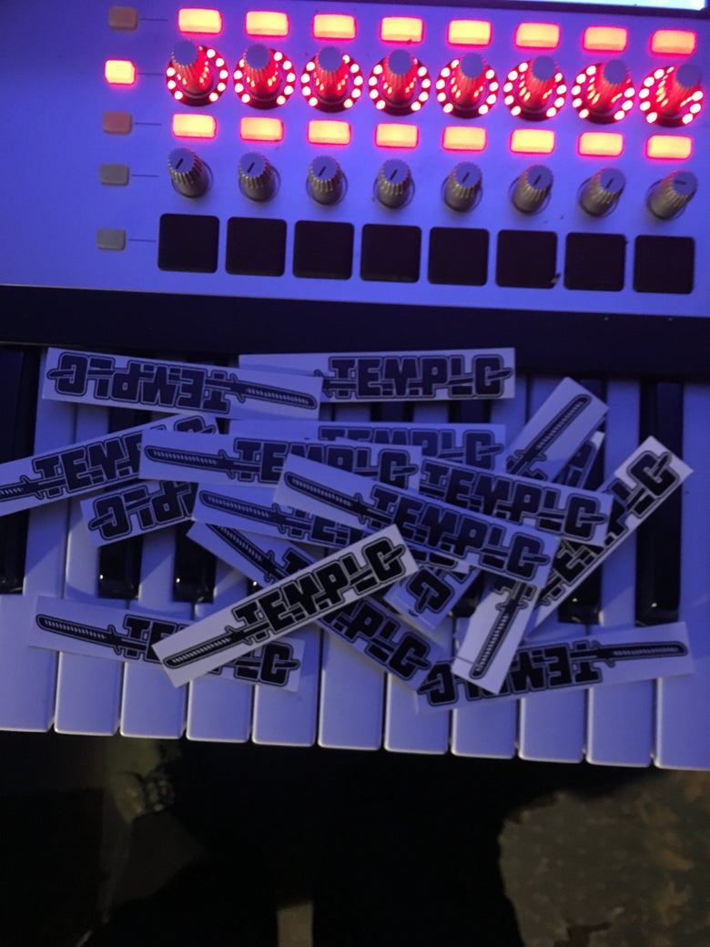 Image of [NEW] 2018 Templo Stickers
