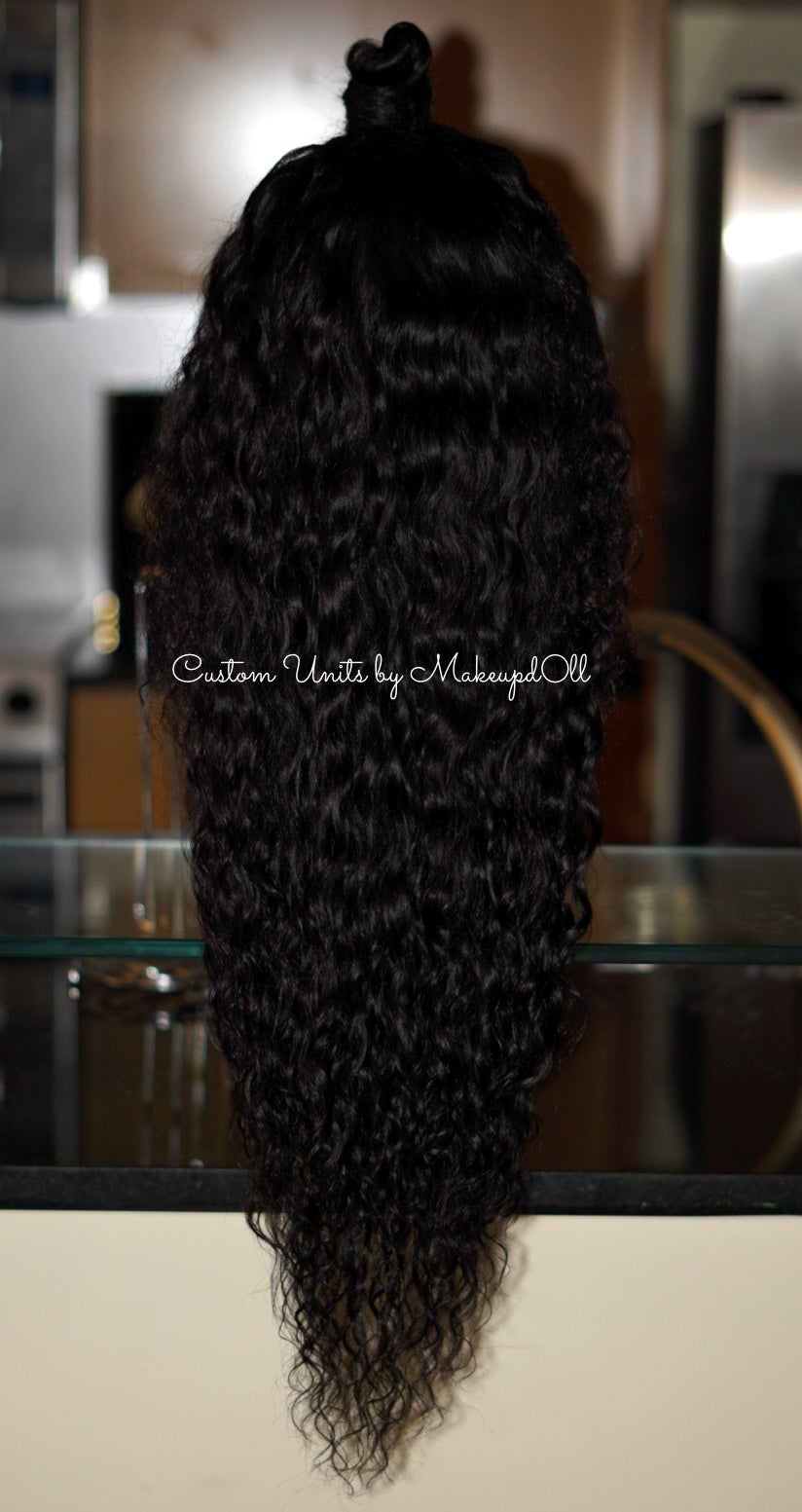 "Image of Cambodian Natural Wave 28"" Custom Lace Frontal Wig!"