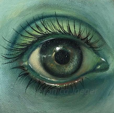 Image of green eye