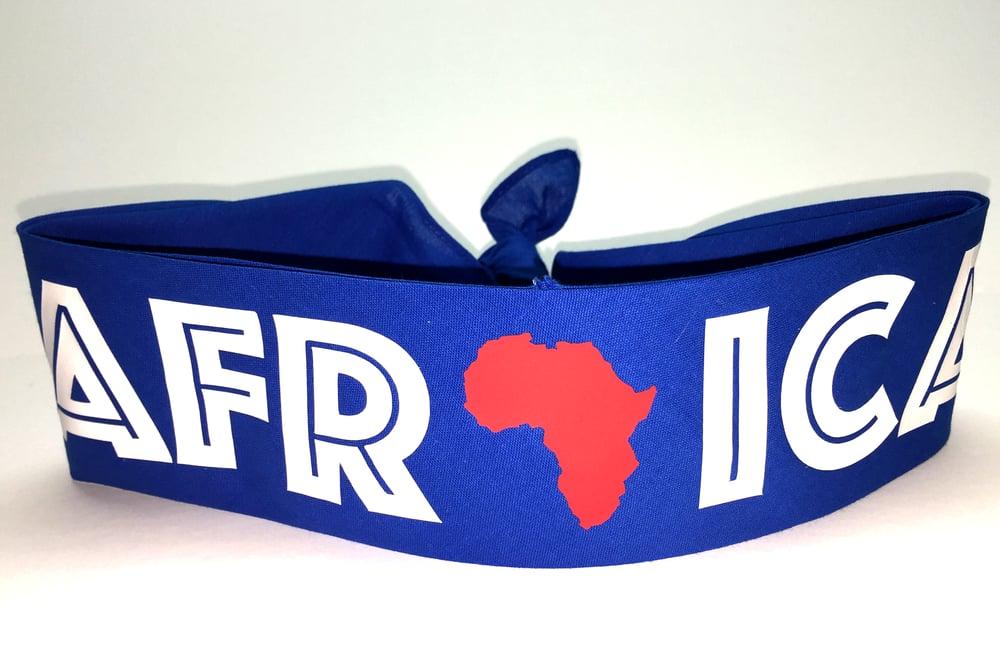 """Image of WORLD TOUR """"AFRICA"""" BANDANA ROYAL"""