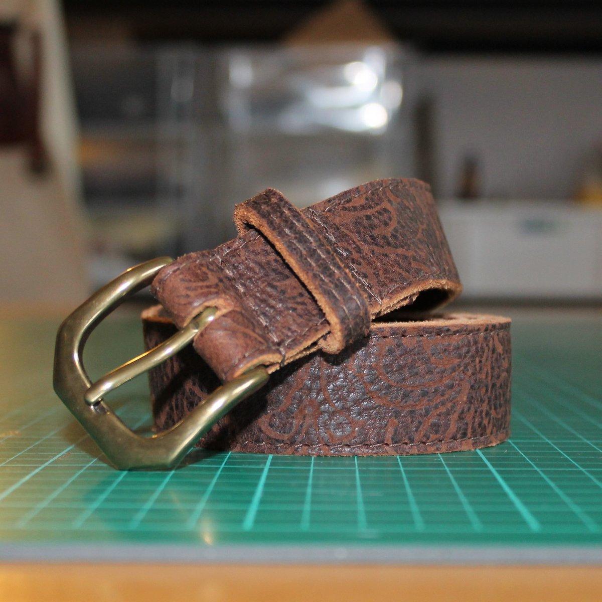 "Soft Leather Belt 34-39"""