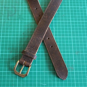 Image of Soft Leather Belt 34-39""
