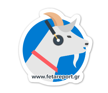 Image of Feta Report Stickers 5x pack