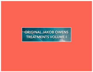 Image of Original Jakob Owens Video Treatments Volume I