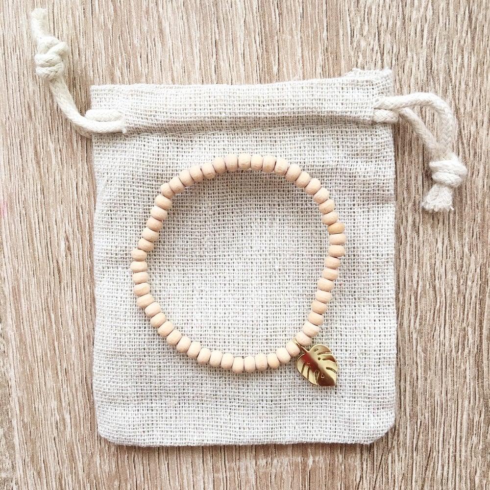 Image of Bracelet INES plaqué OR 18K