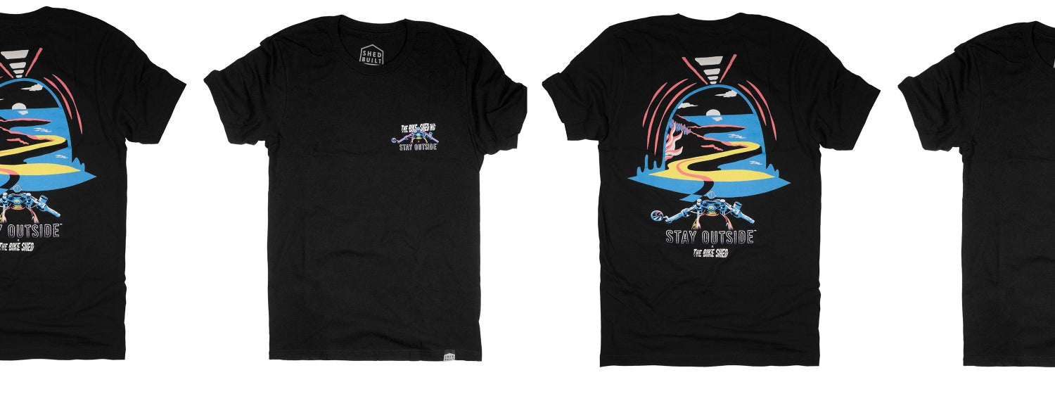 Image of Coastal T - Stay Outside + The Bike Shed collab