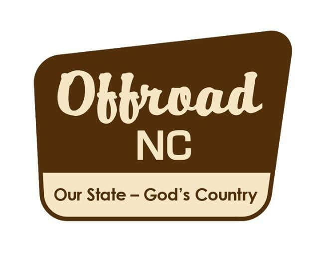 Image of Offroad NC National Forest Decal