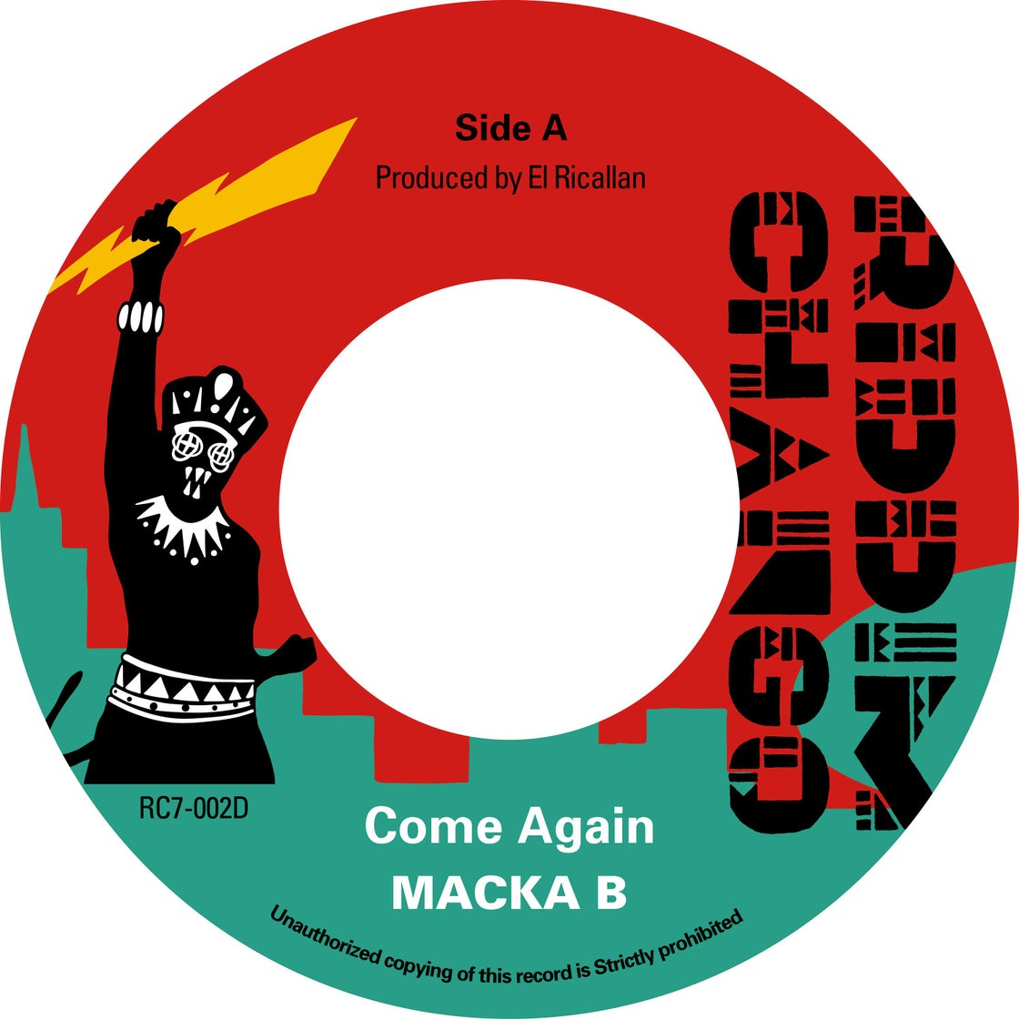 Image of Macka B ‎– Come Again