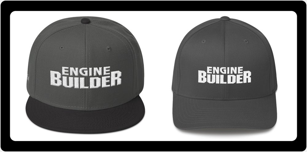 Image of Engine Builder Hats: Snapback and Flexfit
