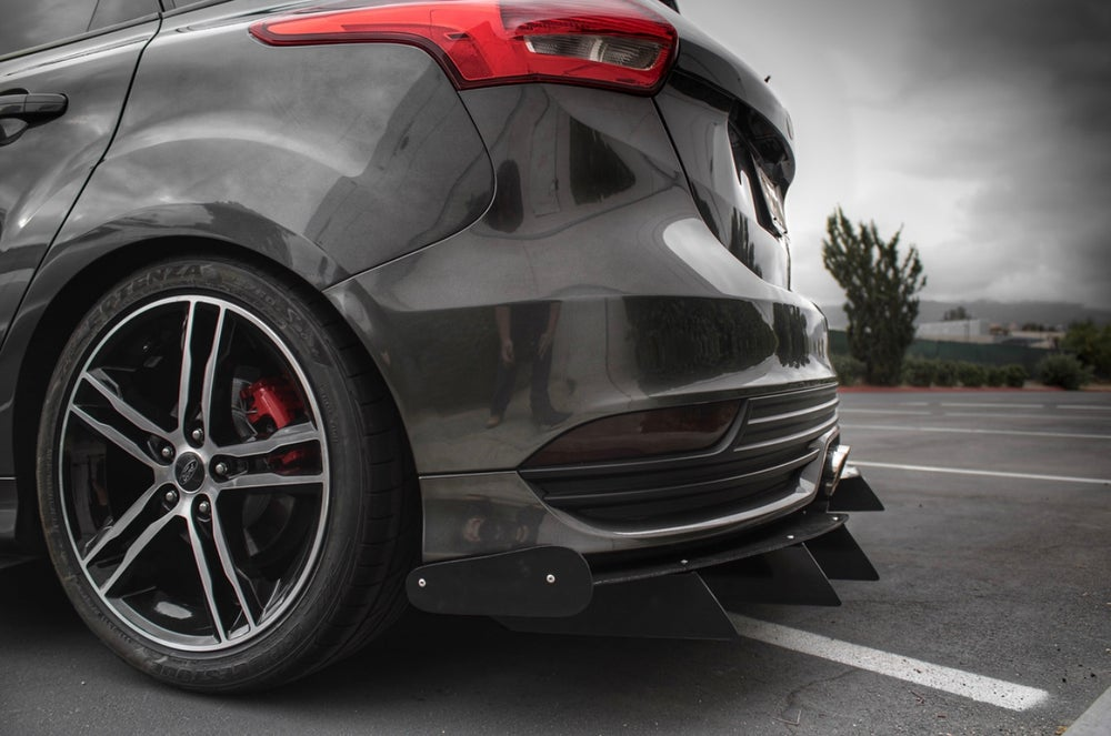 "Image of 2013 - 2018 Ford Focus ST ""V2"" rear diffuser"