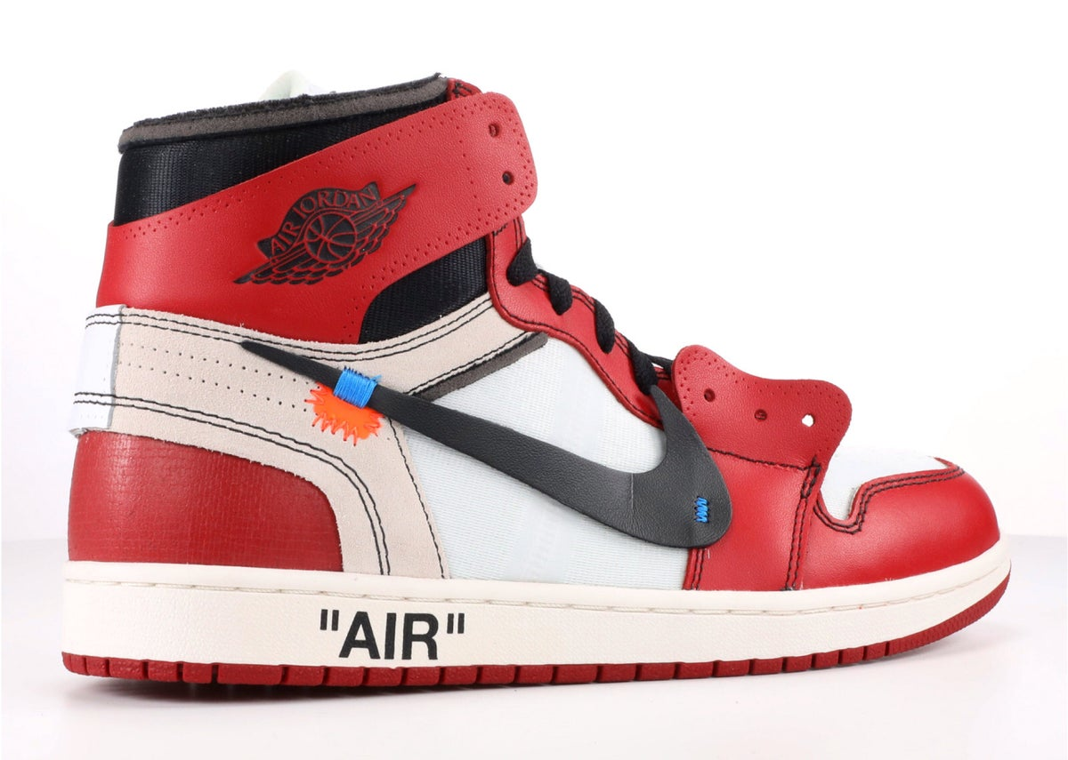 best website 46713 aa435 OFF WHITE THE 10: AIR JORDAN 1 CHICAGO OFF-WHITE