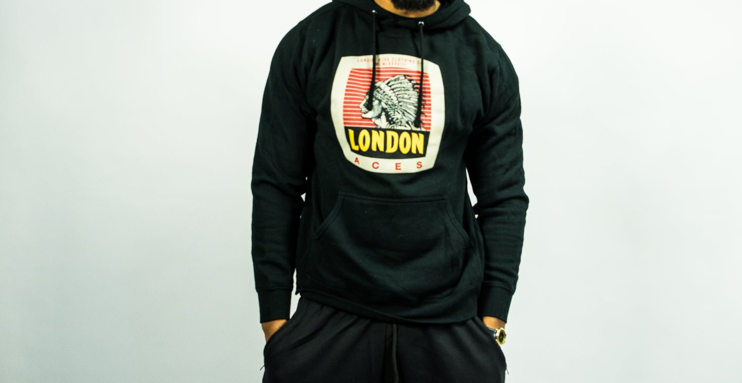 Image of London Aces Indian Chief Hoody