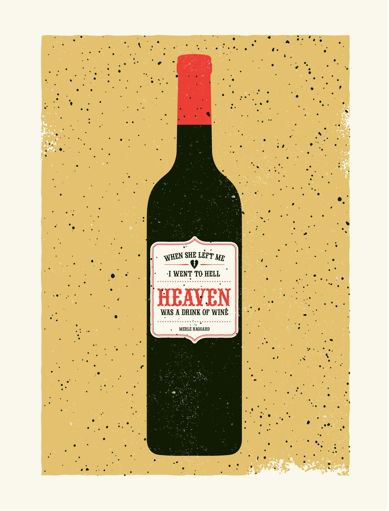 Image of Heaven was a Drink of Wine