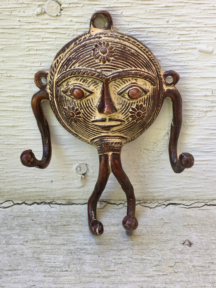 Image of Tribal Sun Mask Hook