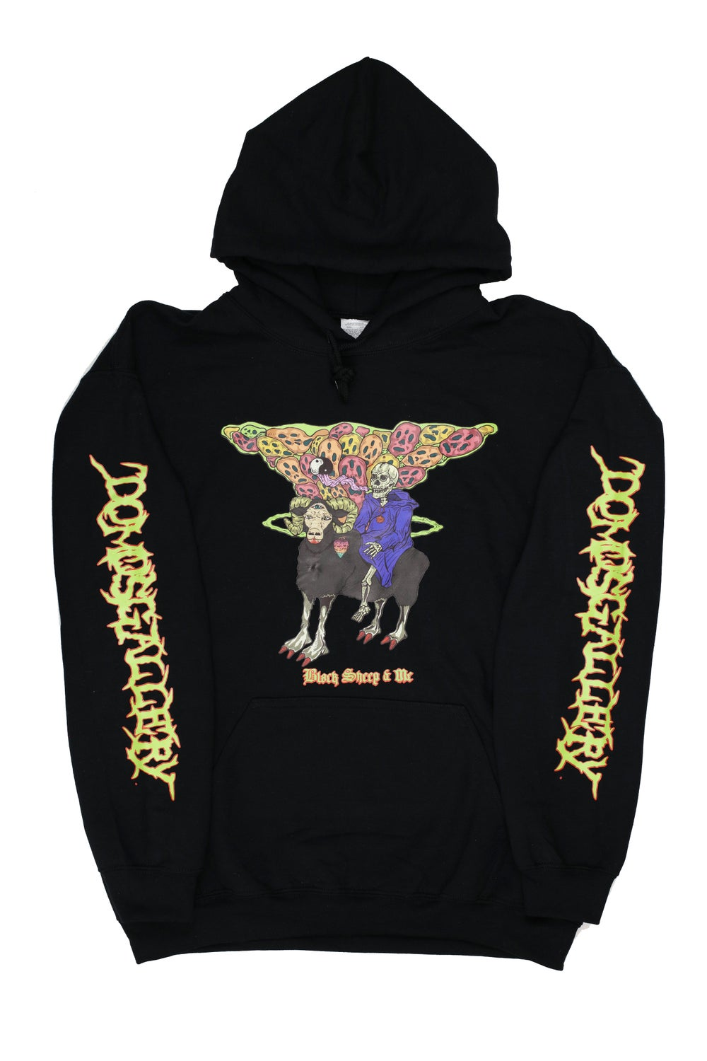 Image of Black 'Black Sheep & Me' Hoody