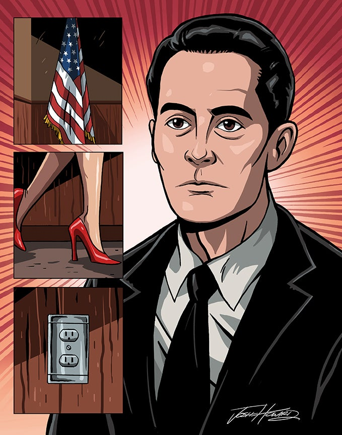 Image of TWIN PEAKS: Part 9 print
