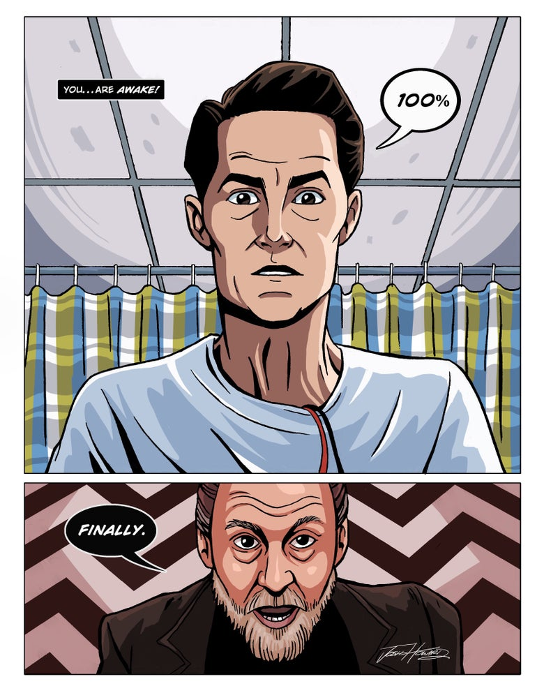 Image of TWIN PEAKS: Part 16 print
