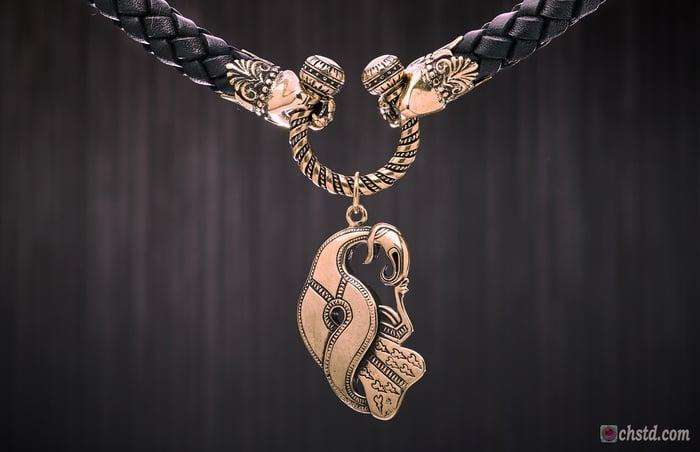 Odin's Raven - Leather Necklace