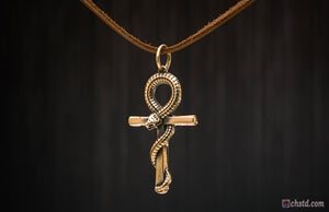 Image of ANKH SERPENT - EGYPTIAN ANKH - FORSALE