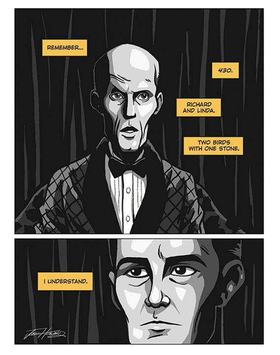 Image of TWIN PEAKS: PART 1 print