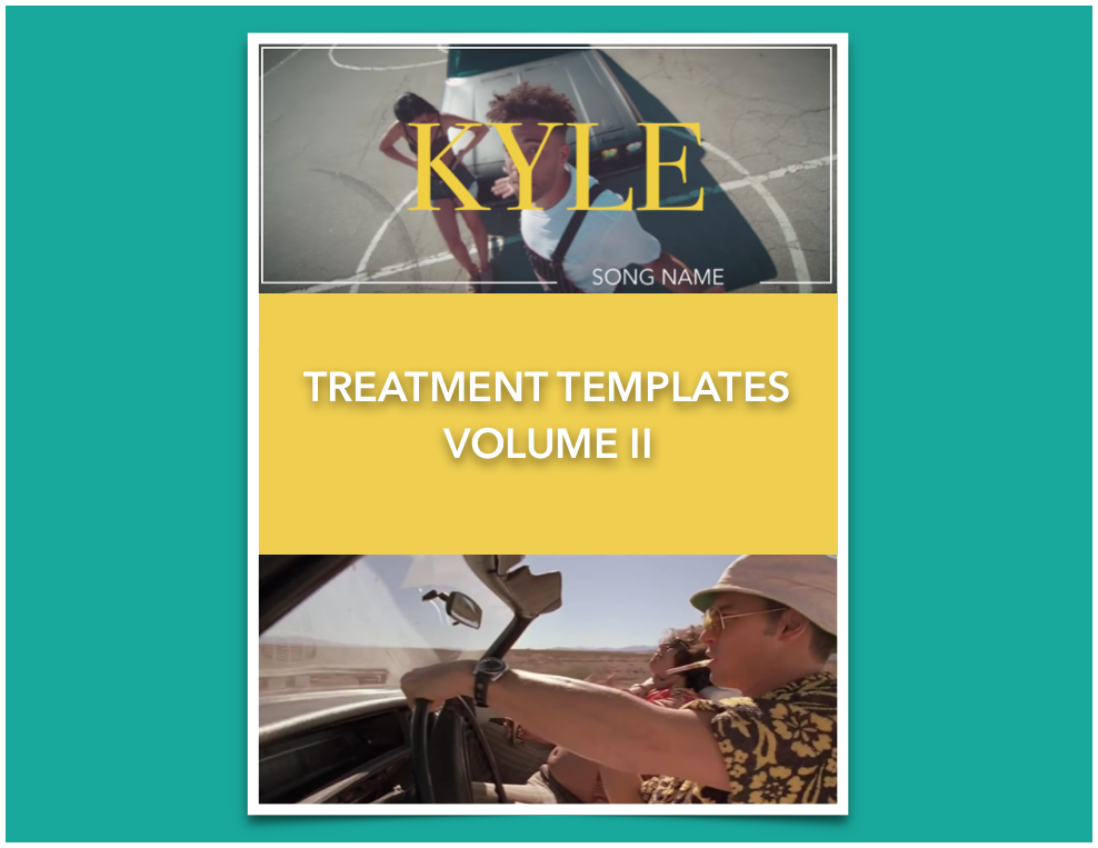 Image of Music Video Treatment Templates Volume II