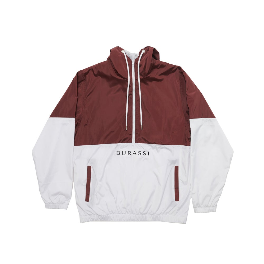 Image of Maroon Windbreaker