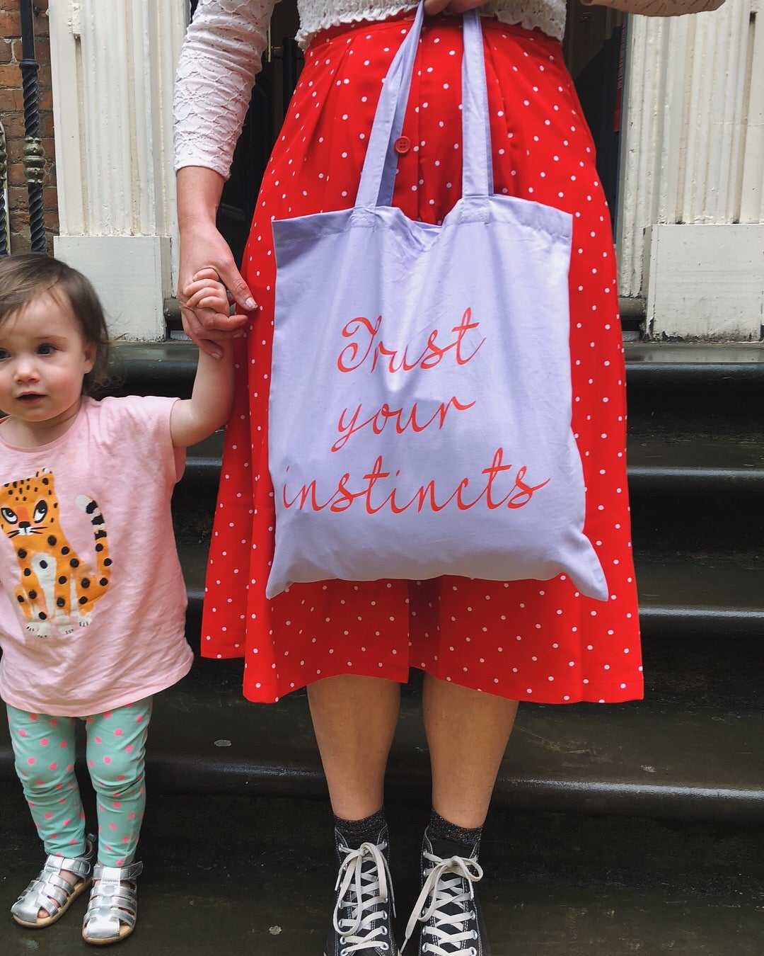 Image of Trust Your Instincts shopper tote
