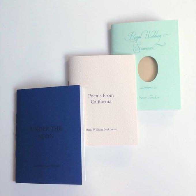 Image of LUMIN Poetry Chapbooks