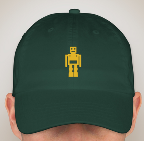 Image of Bot Hats White/Maroon/Pink/Forest Green