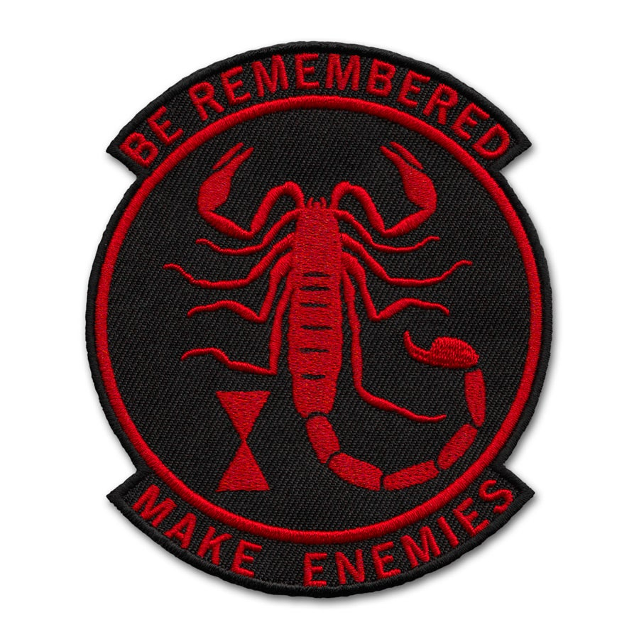 Image of Make Enemies Patch