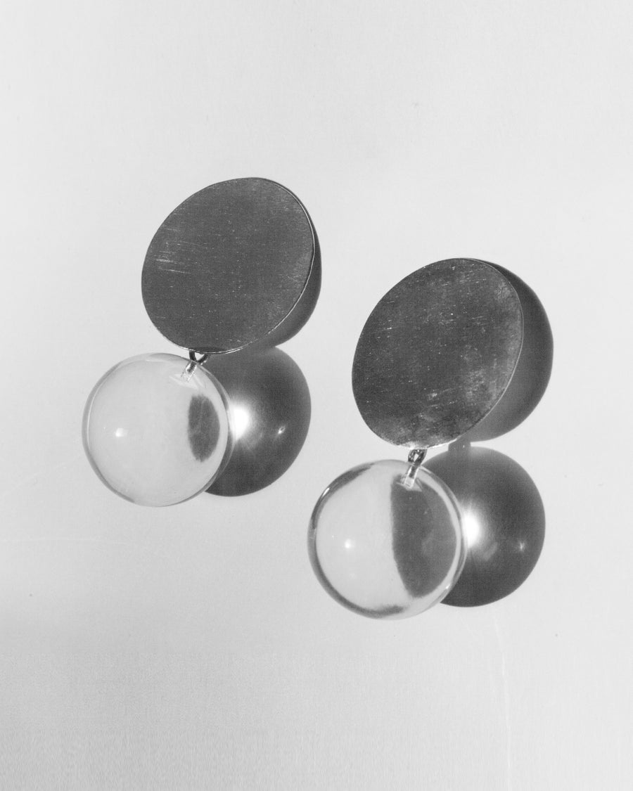 Image of Acrylic Sphere Earrings
