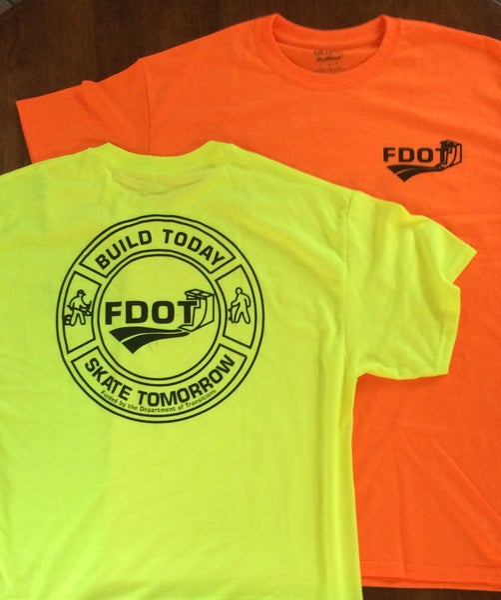 Image of D.O.T.  FDOT Build Today, Skate Tomorrow