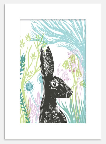 Image of Spring Hare Print