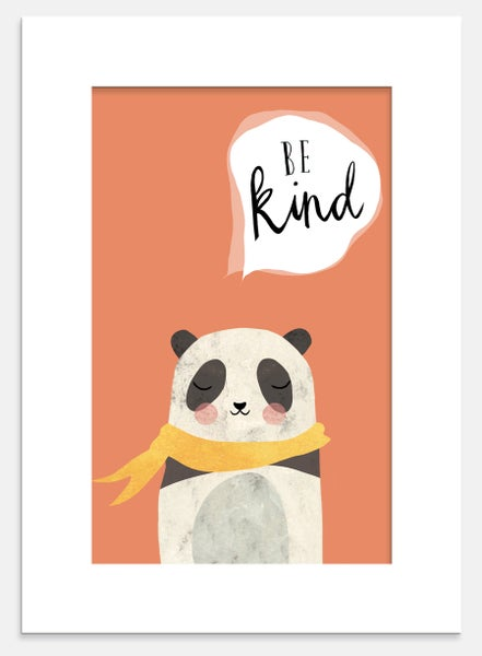 Image of Positive Panda Print